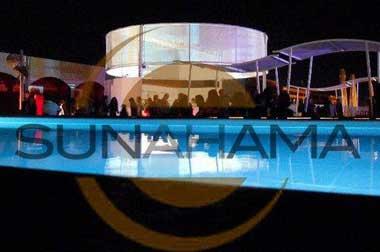 logo kami beach ex sunahama